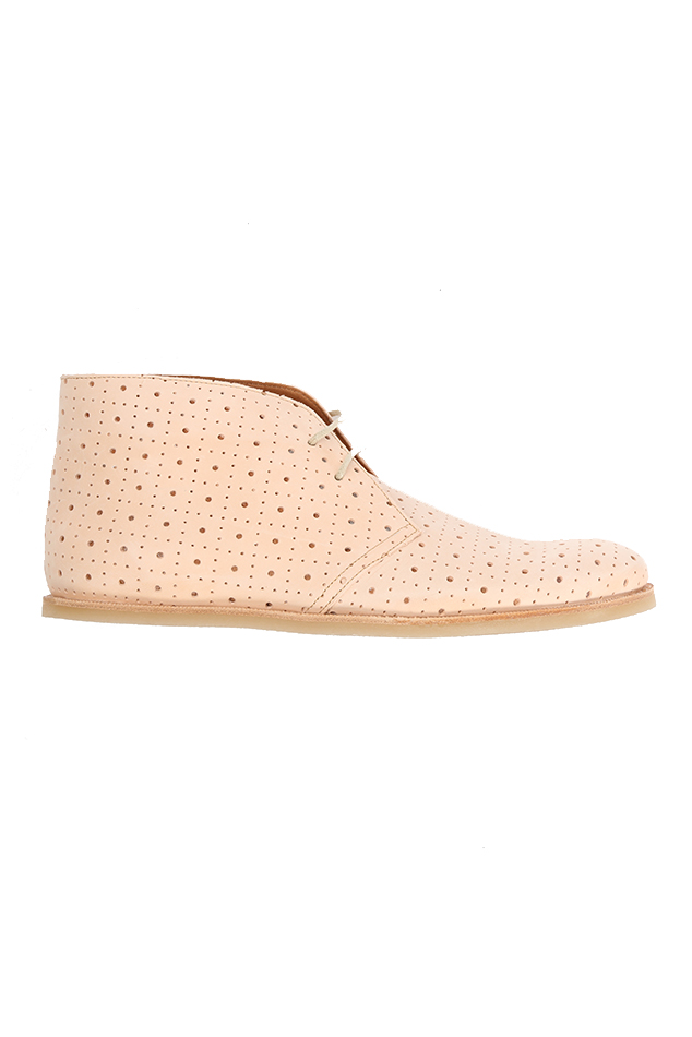 Men's Opening Ceremony M1 Perforated Vachetta Shoe Shoes in Sand, Size 44