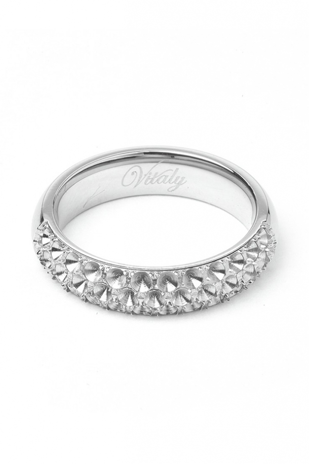 Vitaly Anti-Stone Ring Silver