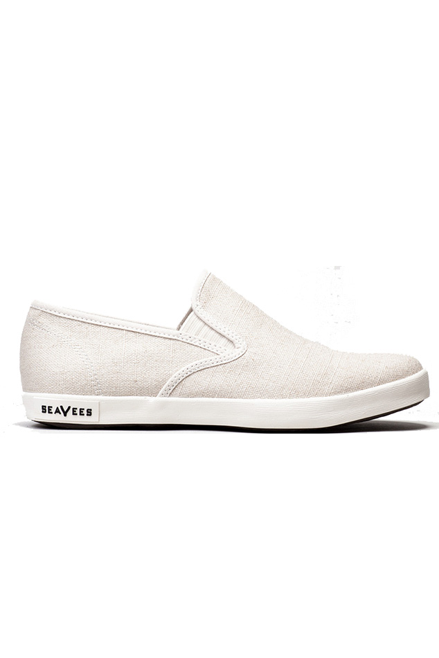 Men's SeaVees Baja Slip On Antique 02/64 Shoes in White, Size 11