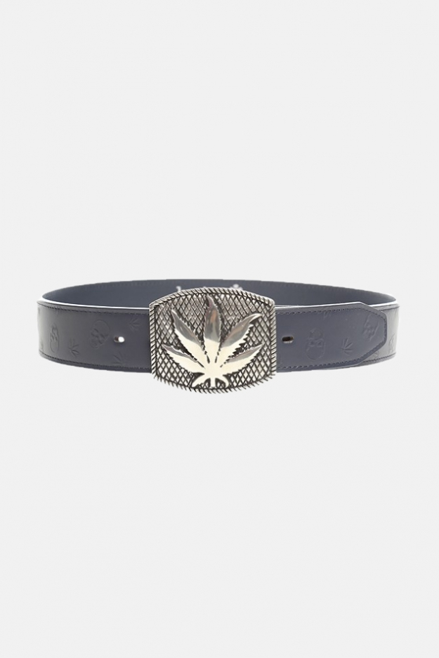 Lucien Pellat-Finet Leaf Embossed Belt