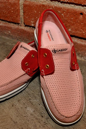 DJ Cassidy X Rockport-Limited Edition Bridgeport Boat Shoe