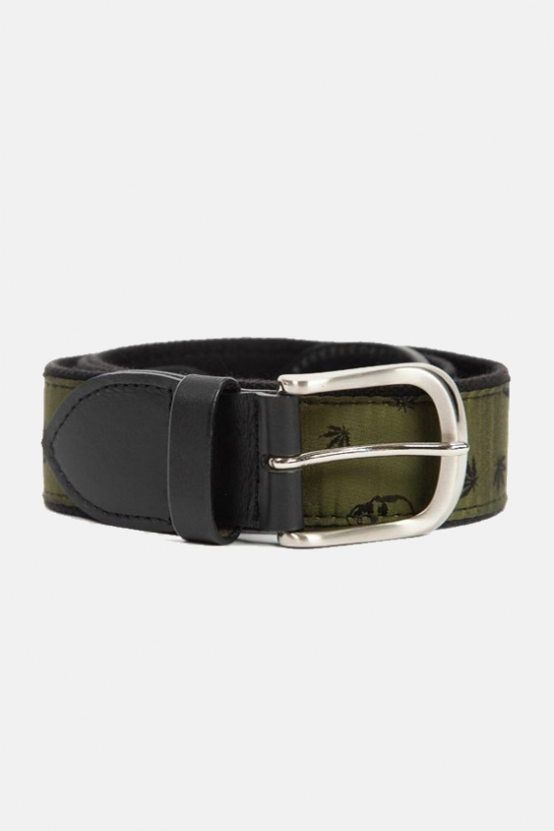 Lucien Pellat-Finet Monogram Leather Belt