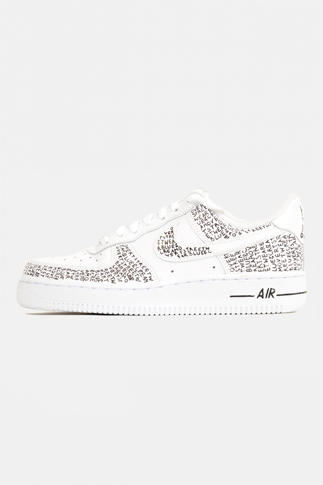 Overt Streetwear AF1 in White, Size 10