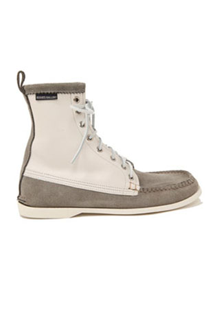 rogues gallery rogues gallery suede leather deck boot