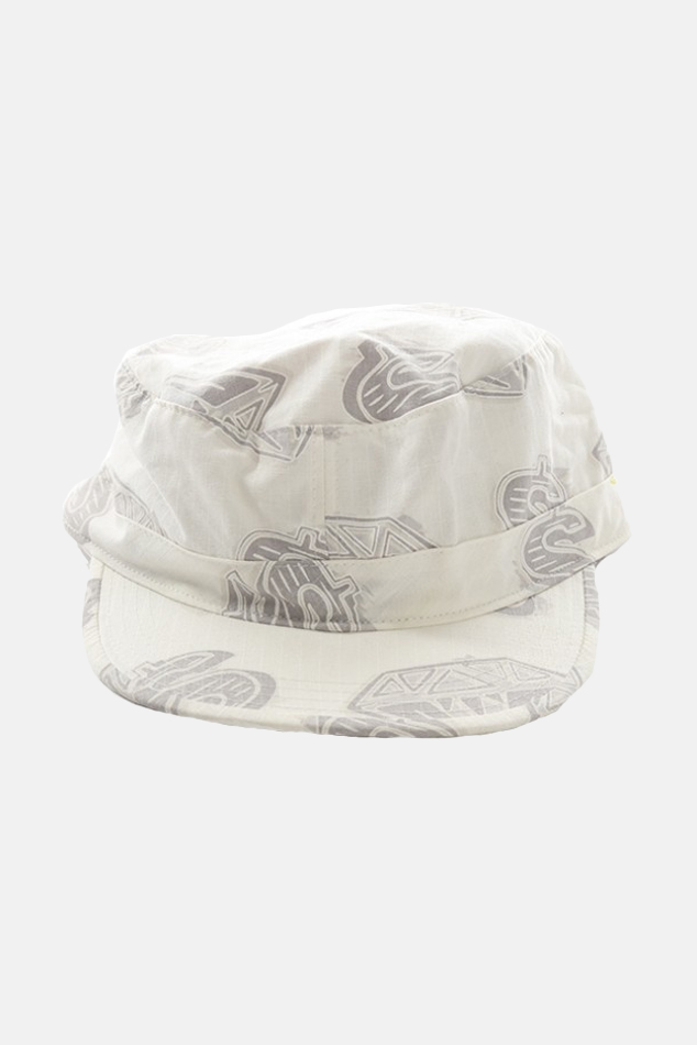 Billionare Boys Club Anything Hat in White, Size Large