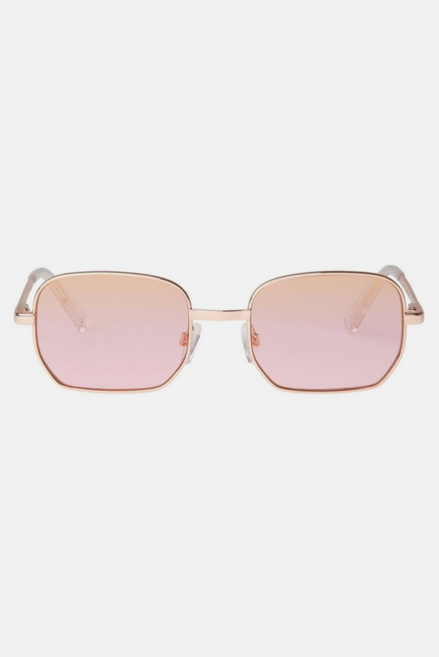 Women's Le Specs The Flash Sunglasses in Gold