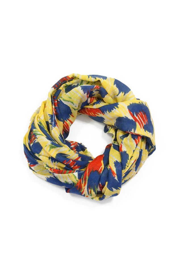 Women's We Are Owls Jaguar Scarf in Yellow